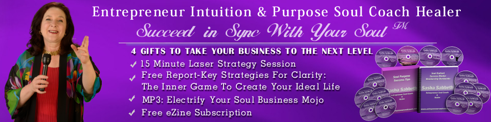 Entrepreneur Intuition & Purpose Soul Coach Healer